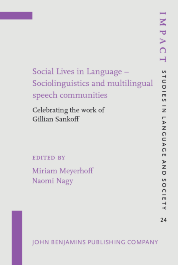 image of Social Lives in Language – Sociolinguistics and multilingual speech communities