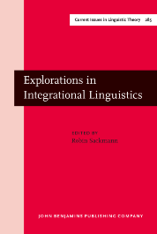 image of Explorations in Integrational Linguistics