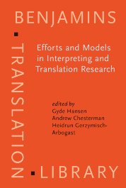 image of Efforts and Models in Interpreting and Translation Research