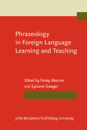 image of Phraseology in Foreign Language Learning and Teaching