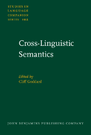image of Cross-Linguistic Semantics