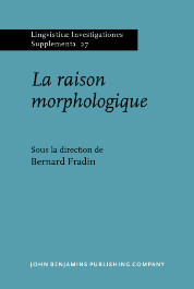 image of La raison morphologique