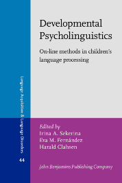 image of Developmental Psycholinguistics