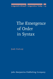 image of The Emergence of Order in Syntax