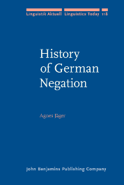image of History of German Negation