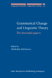 image of Grammatical Change and Linguistic Theory