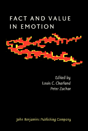image of Fact and Value in Emotion