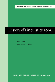 image of History of Linguistics 2005