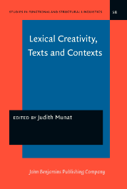 image of Lexical Creativity, Texts and Contexts