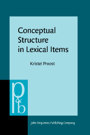 image of Conceptual Structure in Lexical Items