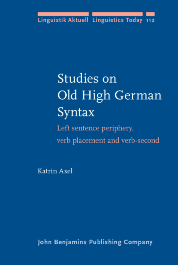 image of Studies on Old High German Syntax