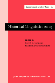 image of Historical Linguistics 2005