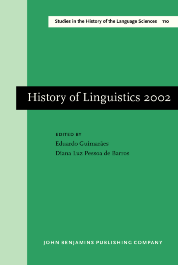 image of History of Linguistics 2002