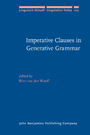image of Imperative Clauses in Generative Grammar
