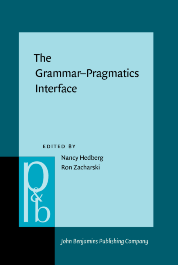 image of The Grammar–Pragmatics Interface