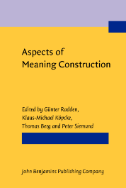 image of Aspects of Meaning Construction