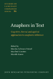 image of Anaphors in Text