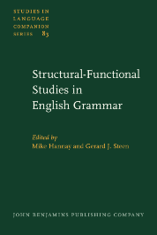 image of Structural-Functional Studies in English Grammar