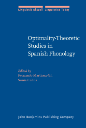 image of Optimality-Theoretic Studies in Spanish Phonology