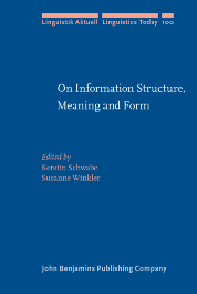 image of On Information Structure, Meaning and Form