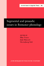 image of Segmental and prosodic issues in Romance phonology