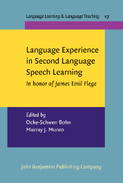 image of Language Experience in Second Language Speech Learning