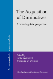 image of The Acquisition of Diminutives