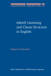 image of Adverb Licensing and Clause Structure in English