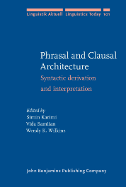image of Phrasal and Clausal Architecture