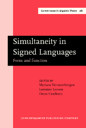 image of Simultaneity in Signed Languages