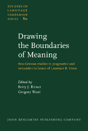 image of Drawing the Boundaries of Meaning