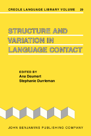 image of Structure and Variation in Language Contact