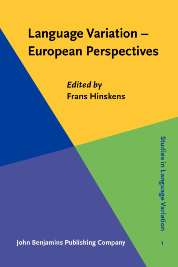 image of Language Variation – European Perspectives