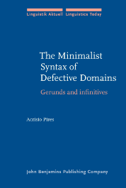 image of The Minimalist Syntax of Defective Domains