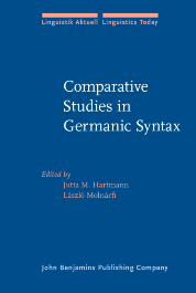 image of Comparative Studies in Germanic Syntax