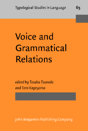 image of Voice and Grammatical Relations
