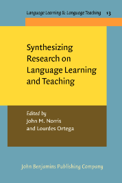 image of Synthesizing Research on Language Learning and Teaching