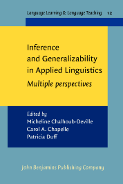 image of Inference and Generalizability in Applied Linguistics