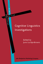 image of Cognitive Linguistics Investigations