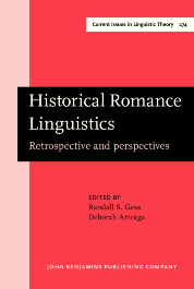 image of Historical Romance Linguistics