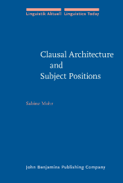 image of Clausal Architecture and Subject Positions