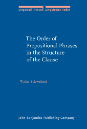 image of The Order of Prepositional Phrases in the Structure of the Clause
