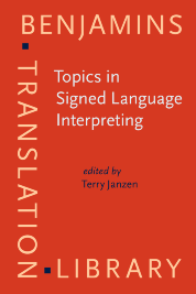 image of Topics in Signed Language Interpreting