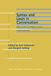 image of Syntax and Lexis in Conversation