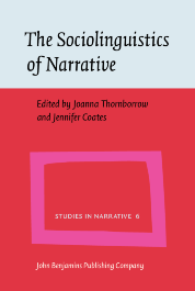 image of The Sociolinguistics of Narrative