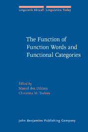 image of The Function of Function Words and Functional Categories