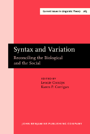 image of Syntax and Variation