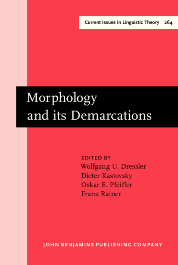 image of Morphology and its demarcations