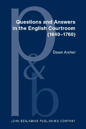 image of Questions and Answers in the English Courtroom (1640–1760)