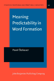image of Meaning Predictability in Word Formation